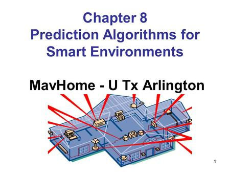 Chapter 8 Prediction Algorithms for Smart Environments
