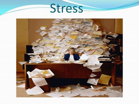Stress Understanding Stress- Day 1 Managing Stress- Day 2 Coping with Loss and Grief- Day 3 Review- Day 4 Test- Day 5.