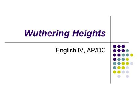 a focus on the character heathcliff in the novel wuthering heights And heath ledger was named after the main character, heathcliff  wuthering heights:  the novel wuthering heights last year and.