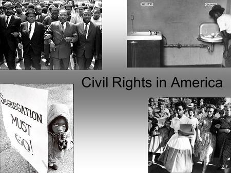 an overview of the causes main events and effects of the civil rights movement in america Home history  the 20th century  the civil rights movement in america   overview slavery in the usa was abolished in 1865, but black americans did  not.