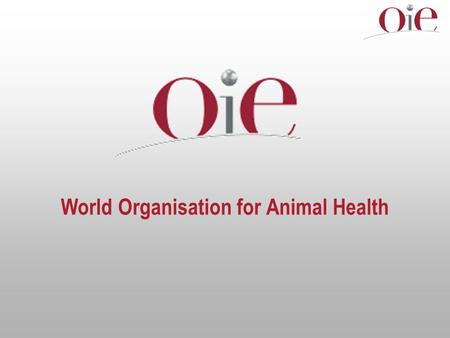 World Organisation for Animal Health. Seminar on the Dialogue and Common Activities between the OIE Member Countries of the European Union and the other.