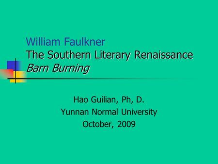 Examples Of Thesis Statements For English Essays Critical Analysis Barn Burning By William Faulkner Online  Exemplification Essay Thesis also Examples Of Thesis Statements For Essays Barn Burning William Faulkner Essay Process Paper Essay
