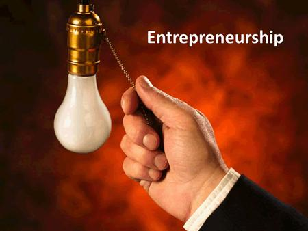 "Entrepreneurship. The Meaning of Entrepreneurship Roots of the word come from the Latin word ""prendere"" and the French word ""prendre"" which means to take."