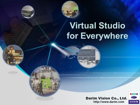 Virtual Studio for Everywhere Darim Vision Co., Ltd.