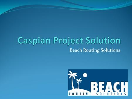 Beach Routing Solutions. Company Profile Established 2008 CEO and Founder: Jesse J. Abulencia Located in the Hampton Roads Area Looking to grow exponentially.