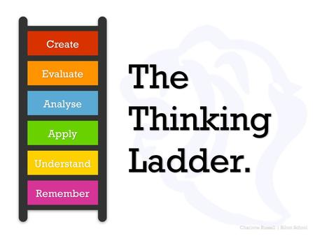 Charlotte Russell | Bilton School The Thinking Ladder.