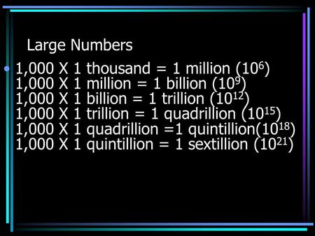 how to write 1 billion in scientific notation