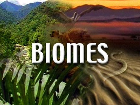 Major Land Biomes. Major Land Biomes Biome- complex of terrestrial communities that cover a large area; characterized by soil, climate, plants, and.