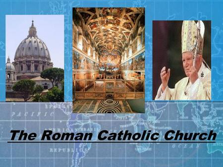 The Roman Catholic Church. I. Life in the Middle Ages 1. No strong government a. Chaos and violence b. Church stepped in -provided: -rules -leadership.