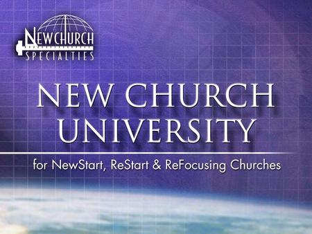 "New Church Blueprints Tab #5 ""Falling In Love With The Church"""