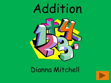 Addition Dianna Mitchell. Content Area: Mathematics Grade Level: Kindergarten Summary: The purpose of this presentation is to teach students basic addition.