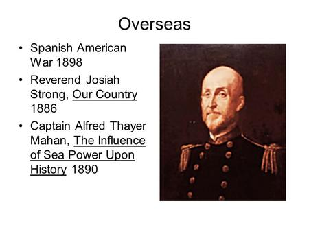 our country josiah strong thesis Josiah strong was born january 19, 1847 in naperville, illinois he was a descendant of elder john strong, one of the early settlers in 17th century puritan massachusetts.
