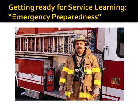  This is a very important unit PRR will be exploring. Everyone needs to know what to do in an emergency. Knowing what to do keeps kids safe, helps others,