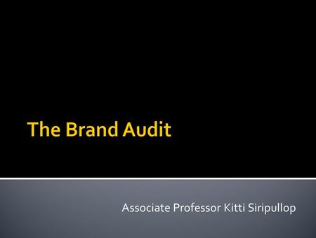 Associate Professor Kitti Siripullop. Does this company have a deep understanding of its consumers' values, attitudes, needs, desires, hopes, aspirations,