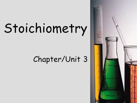 Stoichiometry Chapter/Unit 3. Significant Figures Review (1.5) Rules for counting Significant Figures: 1. Nonzero integers always count! 2. Zeroes (3.