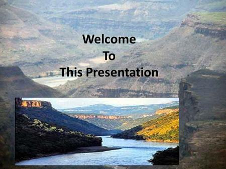 Welcome To This Presentation. Downscaling and Modeling the Climate of Blue Nile River Basin-Ethiopia By: Netsanet Zelalem Supervisors: 1.Prof. Dr. rer.nat.Manfred.