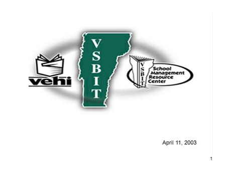 1 April 11, 2003. 2 3 VOSHA AND YOUR SCHOOL AN OVERVIEW OF YOUR REGULATORY OBLIGATIONS.