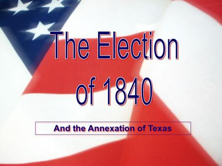 And the Annexation of Texas. Gone to Texas In 1821, Mexico gained its independence from Spain. In 1823, the new regime in Mexico City granted Stephen.