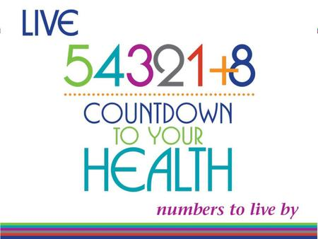 Countdown to Your Health Presenter: Maureen Lyons Sponsored by: Learning ZoneXpress.