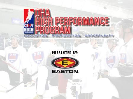 www.ohahockey.org MISSION STATEMENT The OHAHP will provide players the opportunity to learn what it takes physically, mentally and academically to achieve.