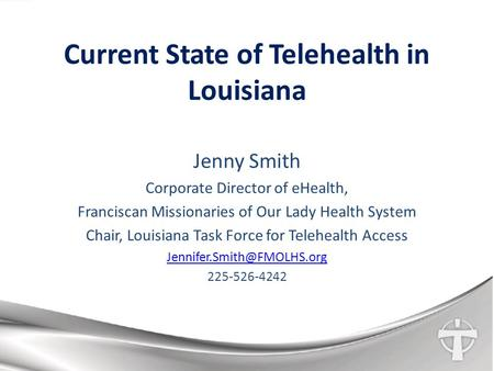 Current State of Telehealth in Louisiana