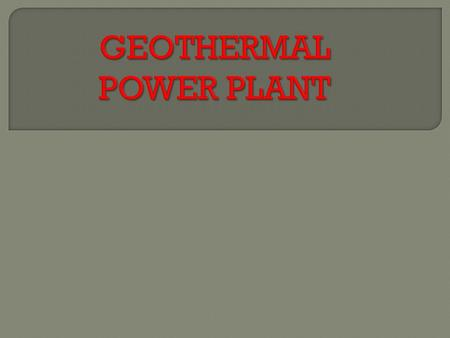 The term geothermal comes from the Greek geo meaning earth and therme meaning heat thus geothermal energy is energy derived from the natural heat of the.
