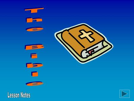  What does the word 'holy book' mean? Lesson Objective.