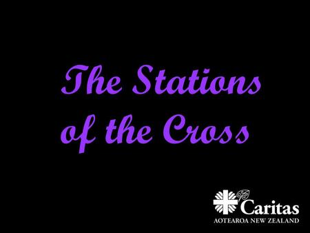 The Stations of the Cross. 1. Jesus is condemned to death Jesus, Hēhu is accused of wrong doing that he is innocent of.