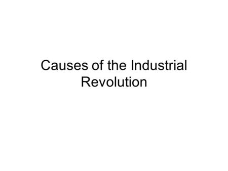 the industrial revolutionlesson learned essay The good, the bad, and the ugly the industrial revolution in america.
