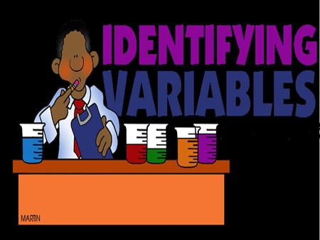 Learning Objectives Know and understand what an Independent variable is Know and understand what an Dependent variable is Show each of these in different.
