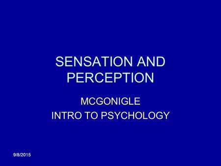 intro to psychology reflection
