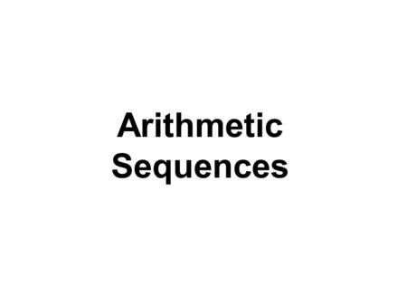 Arithmetic Sequences. A mathematical model for the average annual salaries of major league baseball players generates the following data. 1,438,0001,347,0001,256,0001,165,0001,074,000983,000892,000801,000.