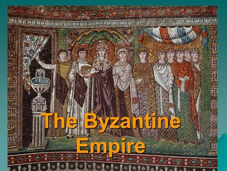 The Byzantine Empire. Constantine In 330 Diocletian's successor, Constantine, rebuilt the old Greek port of Byzantium, at the entrance to the Black Sea.