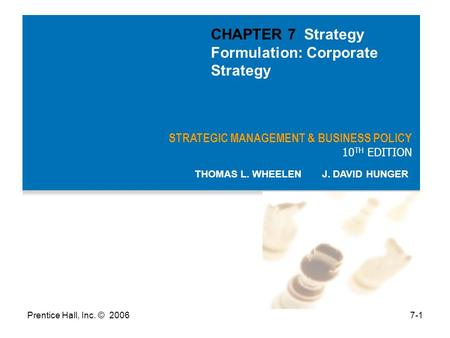corporate strategy formulation Strategy formulation  value chain disruption and strategy  being the head of corporate strategy within a larger multinational corporation.