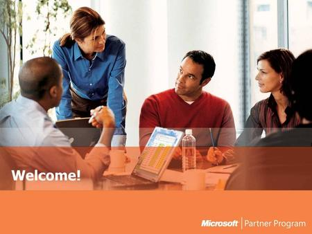 Welcome!. 2 Introduction  Welcome!  Feedback from the Partner surveys  Looking ahead to FY06 and beyond.  The Microsoft Partner Program  New benefits.