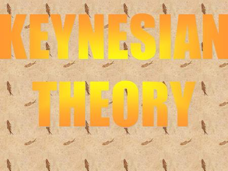 INTRODUCTION Keynesian <strong>economics</strong> (also called Keynesianism and Keyn esian theory) is a school of macroeconomic thought based on the ideas of 20th- century.