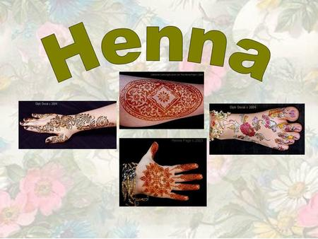 What is henna? Henna is a small shrub with small, dark green scented leaves. The leaves are dried and ground down into a powder which is finely sieved.