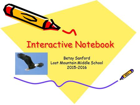 Interactive Notebook Betsy Sanford Lost Mountain Middle School 2015-2016.