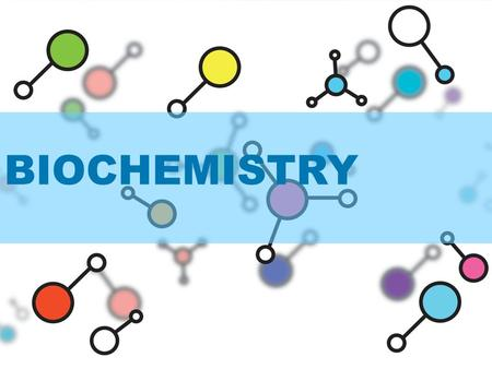 BIOCHEMISTRY. Elements and Compounds An element is a substance that cannot be broken down to other substances by chemical reactions (pure) –Carbon –Oxygen.