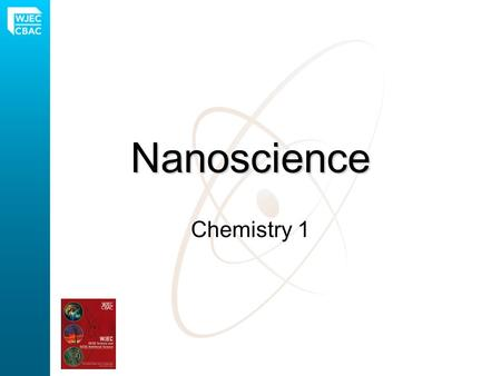Nanoscience Chemistry 1. What is a nanoparticle? One million nanoparticles placed side by side would span 1mm.