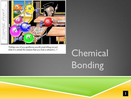 I Chemical Bonding. Chemical Bond  attractive force between atoms or ions that binds them together as a unit  bonds form in order to…  decrease potential.