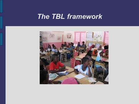 The TBL framework. The pre-task phase introduces the class to the topic and the task activating topic related words and phrases. Pre-task phase.