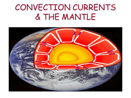 CONVECTION CURRENTS & THE MANTLE. Heat Transfer - The movement of energy from a warmer object to a cooler object Why will this girl burn her hand if she.