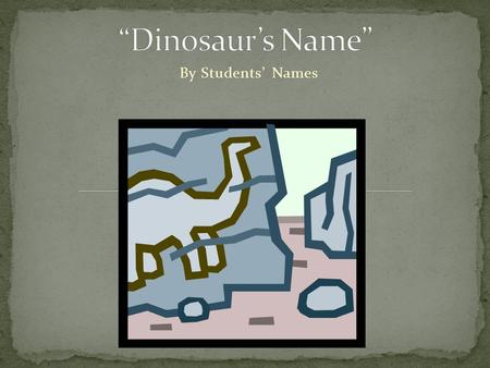 By Students' Names. Stegosaurus (2011).Thagomizer_01.jpg.Image retrieved from  Tell us about your fossil.