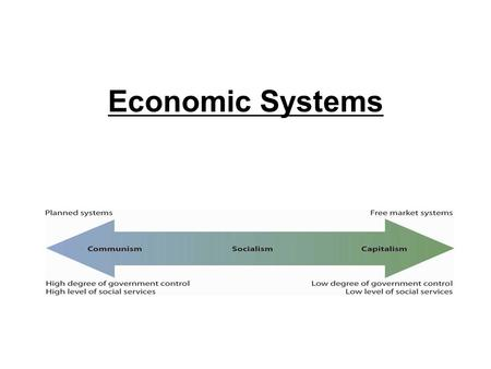 Economic Systems. All Economic Systems Must Consider the Following Questions: THE THREE BIG ECONOMIC QUESTIONS 1. What goods and services to produce?