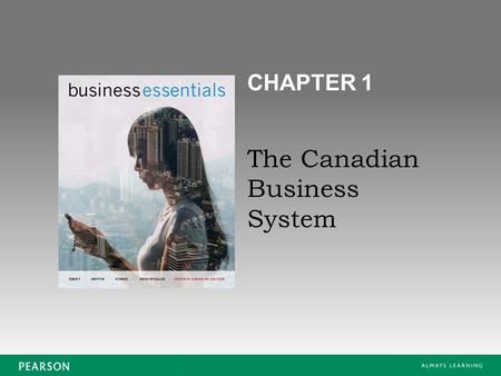 The Canadian Business System CHAPTER 1. Copyright © 2015 Pearson Canada Inc. Business Essentials, 7Ce 1-2 Which of the following organizations represents.