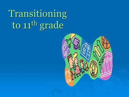 Transitioning to 11 th grade. TC Roberson High School Counseling Department Mrs. Eldridge (A-F) Mrs. Wagaman (G-M) Mrs. Parham (N-Z) Mrs. Anderson (9.