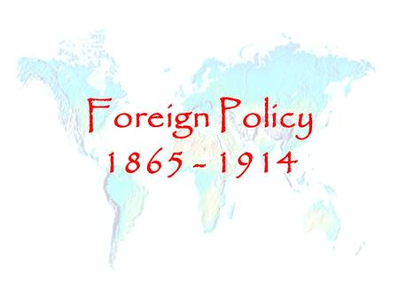 the impact of the shift in american foreign policy from isolationism to interventionism Isolationism or non-interventionism was a tradition in america's foreign policy   in part, this foreign policy shift sprung from euro-american relations and public  fear  including nato and nuclear deterrence, remained in effect even after the .
