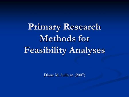 primary research techniques Experimental research is commonly used in sciences such as sociology and psychology, physics, chemistry, biology and medicine etc.