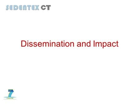 Dissemination and Impact. Key performance indicators.